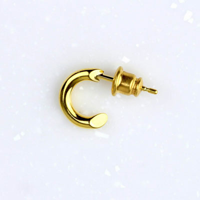 ≪Crescent Luna/クレセントルナ≫DIAGONAL PIERCE GOLD/ディアゴナルピアス ゴールドの画像