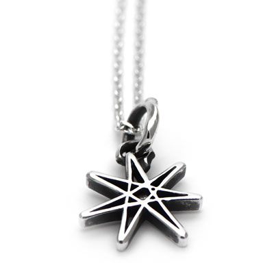 ≪cooldust≫seven pointed star pendant FCN-083の画像